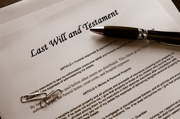 Characteristics of a Properly Executed Will