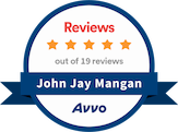 Avvo Rating 10.0 John Jay Mangan Top Attorney. 97% of US lawyers are rated with unsolicited reviews and detailed profiles by Avvo, a unit of Martindale-Avvo, formerly Martindale-Hubbell.